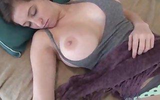 Sleeping Facial Cumshot Super Hot Teenage gets Nutted on while Sleeping